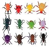 Xiton 12st Kunststoff Käfer Spielzeug der Kinder-Party-Tricks