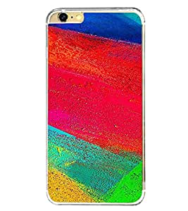 Multicolour Pattern 2D Hard Polycarbonate Designer Back Case Cover for Apple iPhone 6s Plus :: Apple iPhone 6s+