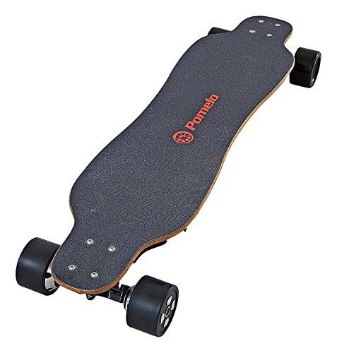 Pomelo P5 Longboard Électrique Mixte Adulte, Noir