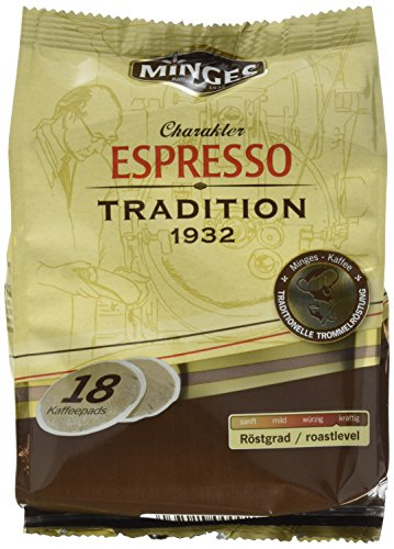 Minges Espresso Tradition 1932, 6er Pack (6 x 126 g)