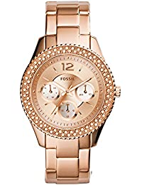 Fossil Rose Dial Women's Watch - ES3590