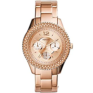Fossil Rose Dial Women's Watch – ES3590