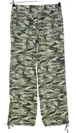 Skechers pantalon pantalon cargo camouflage militaire jambe l-gr large 80 cm vert