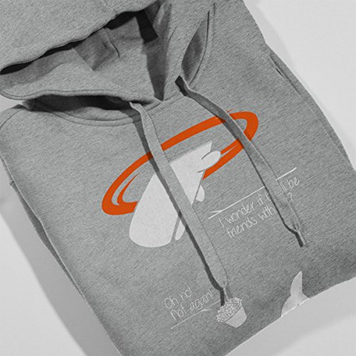 Portal Guide Hitchhikers Women's Hooded Sweatshirt Heather Grey