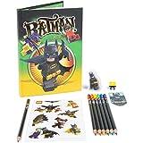 Batman - Stationery, agenda con accesorios (Lego 51749)