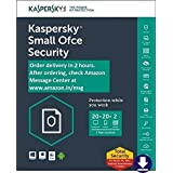 Kaspersky Small Office Security Latest Version- 20 PCs + 2 File Server + 20 Mobile Devices - 1 Year  (Email Delivery in 2 hours- No CD)