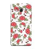 Samsung Galaxy J3 Prime (2017) Back Cover, Samsung Galaxy J3 Prime (2017) Back Case Hand Drawn Poppy Flowers Seamless Pattern Design From Printvisa