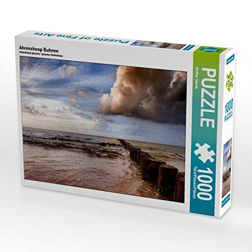 Preisvergleich Produktbild Ahrenshoop Buhnen 1000 Teile Puzzle quer (CALVENDO Menschen)