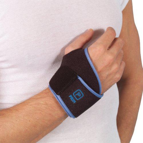 Wrist Strap/Wrist Support-einfach zu nutzen, effektive Handgelenk Unterstützung, die bietet Wärme, verstellbare Ebenen der Kompression und Muskelverspannungen Relief. Empfohlen für Basal Daumen Arthrose, Arthritis, rhizarthrosis Arthrose der Daumen, Tendinitis, Bursitis Handgelenk Zerrungen oder Handgelenk Verletzungen. Funktioniert von Bewegung einzuschränken, um Schmerzen oder Beschwerden in der Daumengrund (CMC) Gelenk. Universal Größe. -