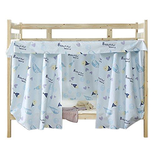 YJZQ Etagenbett Moskitonetz Hochbett Spielbett Bettvorhang Lichtdicht Vorhang Insektennetz Mückenschutz für Studentenwohnheim Kinderzimmer, 1.2 x 2.0 M(3pcs) -