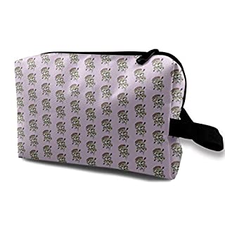Pizza Addicted Travel Storage Bag Cosmetic Bag Beauty Case Buggy Bag
