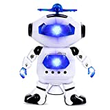 #10: ElectroBot Electronic Walking Dancing Robot Toys With Music Lightening For Kids Boys Girls Toddlers, Battery Operated