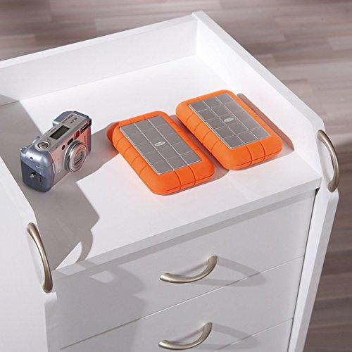 Inter Link 13300100 Rollcontainer Bürocontainer Büromöbel Büro Rollwagen Buche 4 Schubladen weiß NEU - 3