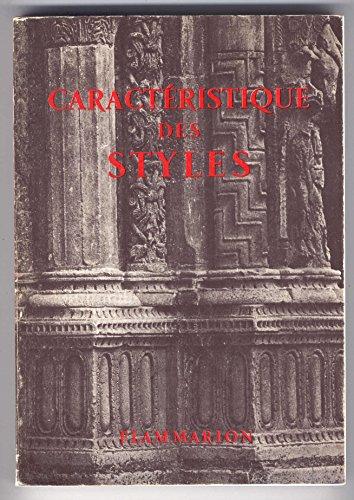 Caractristiques des Styles 410 sujets de styles