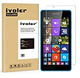 Microsoft Lumia 540 Protection écran, iVoler® Film Protection d'écran en Verre Trempé Glass Screen Protector Vitre Tempered pour Microsoft Lumia 540 - Dureté 9H, Ultra-mince 0.20 mm, 2.5D Bords Arrondis- Anti-rayure, Anti-traces de doigts,Haute-réponse,