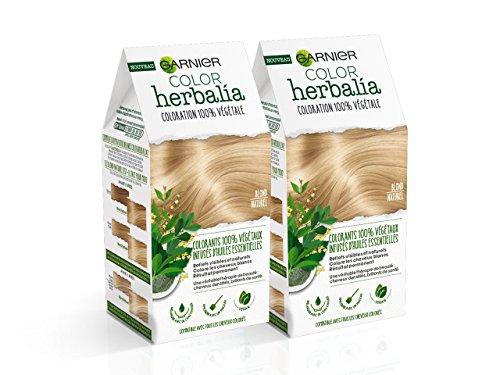 Color herbalia colorazione 100% Vegetale Biondo Naturale–Set di 2