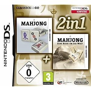 2 in 1: Mahjong + Mahjong – Eine Reise um die Welt – [Nintendo DS]