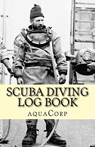 Scuba Diving Log Book por aquaCorps