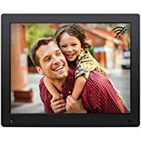 ‏‪NIX Advance 15 Inch Digital Photo Frame X15D - Digital Picture Frame with IPS Display, Motion Sensor, USB and SD Card Slots and Remote Control‬‏