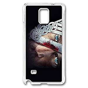 Samsung Galaxy Note 4 Case, Note 4 Case - Drop Protection Clear Hard Case for Galaxy Note 4 Case Vikings Ultra Thin Crystal Clear Hard Case for Samsung Galaxy Note 4