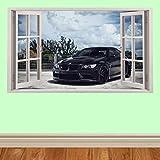 Super Auto super cars hyper cars späht Kinder-Lieblings-Charaktere fenster 100cm Wandtattoo, Vinyl, Motiv: Wandkunst, Customise4U™ (bmw window)