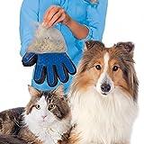 YOUNICER pet cura guanto - efficiente gatto cane pelo di animale domestico - deshedding spazzola guanto perfetto per cane gatto con una lunga pelliccia - 1 paio breve