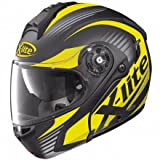 X-LITE CASQUE MODULABLE X1004 NORDHELLE N-COM FLAT BLACK/YELLOW