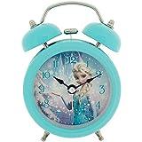 Disney Frozen ELSA Kinderwecker, Metall, Mehrfarbig, 90 x 110 mm,