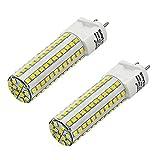 MENGS® 2 Stück G12 LED Lampe 10W AC 85-265V Kaltweiß 6500K 108X2835 SMD Mit Keramik und Aluminium Mantel