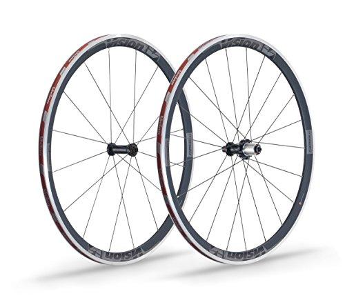 Vision Unisex Trimax carbono 35C11V15Juego de ruedas, negro/gris, 700C