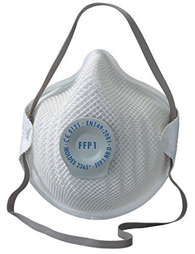 Moldex 2365 Atemschutzmaske Klassiker FFP1 NR D mit Klimaventil 20 Stück
