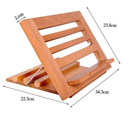 Atril plegable de madera por 14€ con el #código: PUNVH9NJ