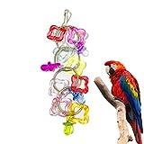 papageienspielzeug Buntes Haustier Vogel Papageien Schwingen Käfig Bissen Spielzeug für Parakeet Cockatiel Toys
