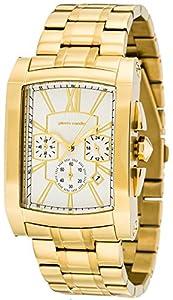 Pierre Cardin Pont Des Arts Chrono - Reloj de cuarzo para hombres, color dorado de Pierre Cardin