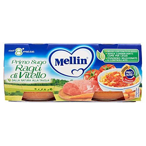 Mellin primi sughi ragù di vitello - 12 vasetti da 80 gr