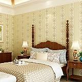 Longless Wallpaper, simple, européen, non-tissés, de l'environnement, papier peint, salle de séjour, chambre à coucher, télévision, l'arrière-plan, papier peint, 10*0.53M