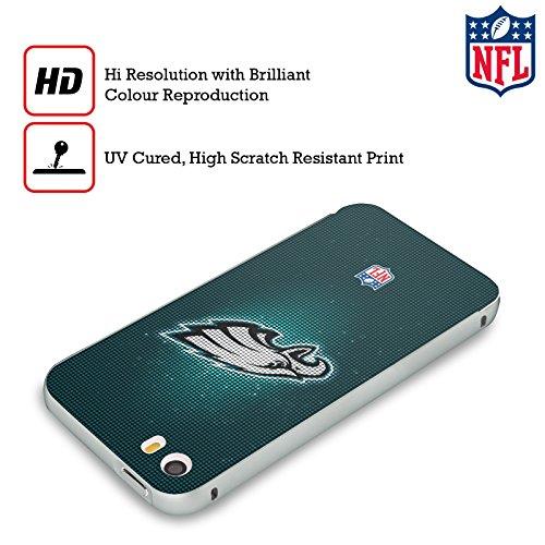 Ufficiale NFL LED 2017/18 Philadelphia Eagles Argento Cover Contorno con Bumper in Alluminio per Apple iPhone 5 / 5s / SE LED