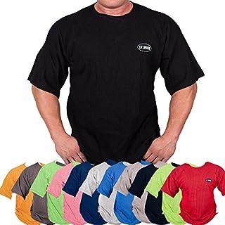 C.P.Sports Gym-Shirt S8 - Farbe: schwarz Gr.L/Bodybuilding Shirt, Fitness T-Shirt - Ideal f. Workout im Fitness-Studio