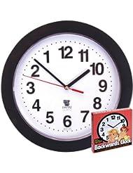 Reloj que funciona al revés