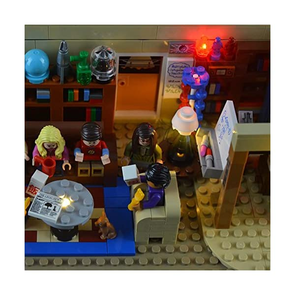 LIGHTAILING Set di Luci per (Ideas The Big Bang Theory) Modello da Costruire - Kit Luce LED Compatibile con Lego 21302… 5 spesavip