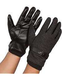 Sakkas Enes Warm Fleece Lined Driving Gloves Vegan Minimal Commute Casual