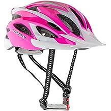 Leadtry HM-3casco de la bici Ultraligero Integralmente moldeados EPS casco de bicicleta casco de seguridad especializados para carretera/montaña terreno para Bicicleta con cómodo lavable almohadillas de antibacteriano, rosa