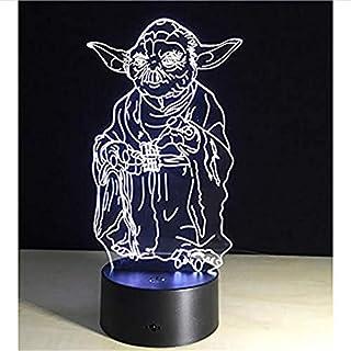 HYDYI Fernbedienung MasterLED Nachtlicht dekorative Beleuchtung Stimmung Lampe großes Geschenk für Kinder