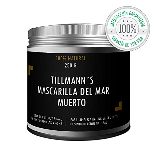 Tillmann's® Crema Hidratante Facial Del Mar Muerto 250g – Crema Antiedad – Mascarilla Antienvejecimiento Y Rejuvenecedora Facial Y Corporal – Prevenir Arrugas en Cara Hombre Y Mujer