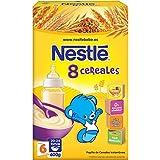 Nestlé Papillas 8 Cereales a Partir de 6 Meses - 600 gr