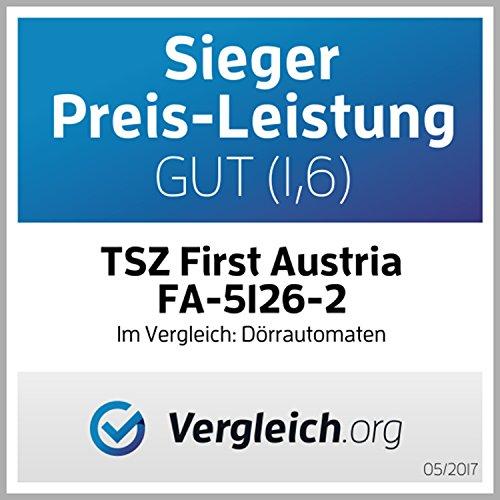 TZS First Austria – Dörrgerät mit Temperaturregler – 5 höhenverstellbare Etagen – BPA Frei - 6
