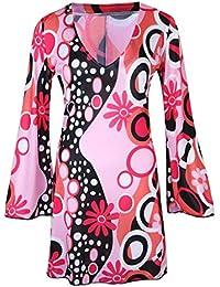 more photos 7909d 0bb6f Amazon.it: vestiti anni 70 donna: Abbigliamento