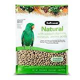 ZuPreem Naturale con aggiunta di vitamine, minerali, amminoacidi Medium/Large Bird Food,3lb