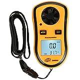 Anemómetro Digital Anemómetro, monitores meteorológicos, medidores de flujo de aire, calidad del aire, medidor de velocidad del viento de mano instrumento de prueba de viento de temperatura del viento