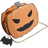 VALICLUD Halloween Casual Umhängetasche Kürbis Umhängetasche Little Devil Umhängetasche Umhängetasche Handtasche für Studenti